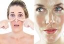 Жирная кожа на носу: что делать?