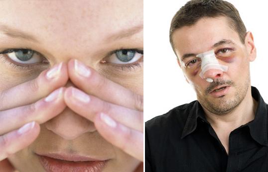 признаком чего может быть красный нос